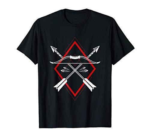 Freccia e arco regalo per tiro con l'arco e arcieri Maglietta