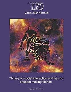Leo: Zodiac Sign Notebook (Zodiac Zone)