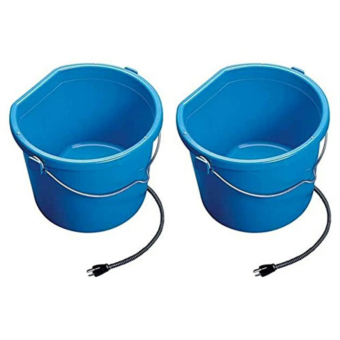 API Heated Flat Back Bucket (5 Gallon (2 pack))