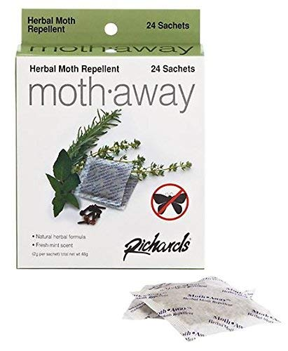 Richards Moth Away/Herbal - 3 pack - 72 satchets