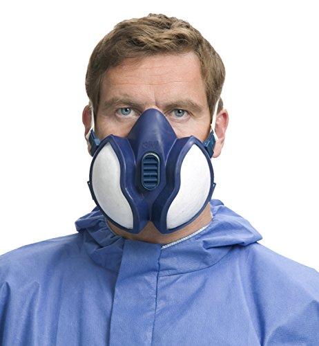 3M Atemschutz-Halbmaske Wartungsfrei, FFA1P2R D-Filters, 4251, EN-Sicherheit zertifiziert - 6