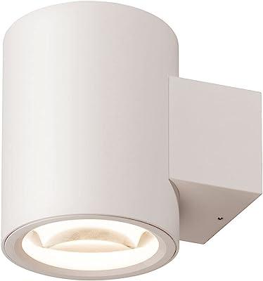 SLV 1004671 Oculus UP/Down WL/éclairage intérieur, LED, Applique, Spot Mural, 15 W, 1110 LM, Blanc à intensité Variable, Aluminium