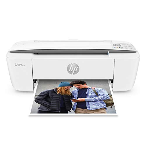 Hp DeskJet 3000 Series Wireless All-in-One Compact Color Inkjet Printer - White - Instant Ink Ready - Print Scan Copy for Home Business Office - lcon LCD Display, 1200 x 1200 dpi, WiFi, USB
