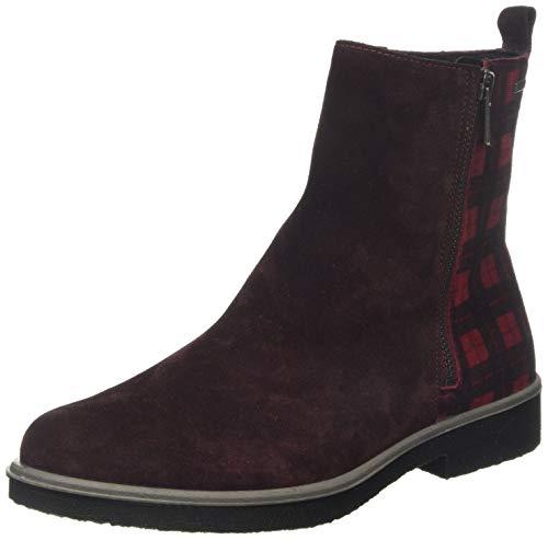 Legero Damen Soana Gore-Tex Chelsea Boots, Rot (Amarone (Rot) 59), 39 EU
