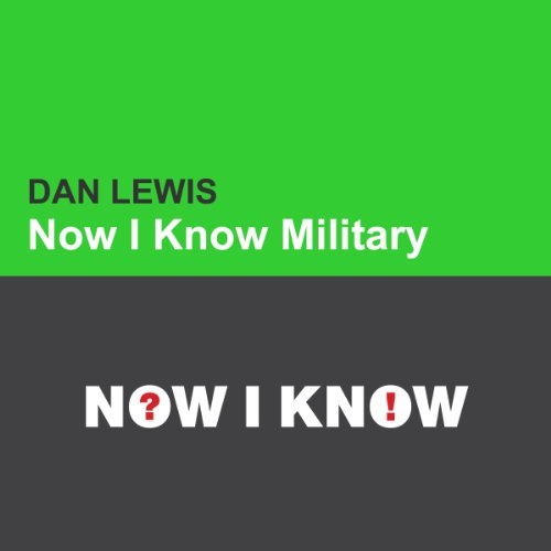 Now I Know: Military audiobook cover art
