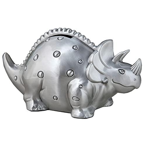 YHYH Hucha De Dinosaurio Retro, Banco De Monedas De Peltre Vintage, Olla De Ahorro, Caja De Dinero, Banco De Dinero De Metal De (Color : Piggy Bank A)
