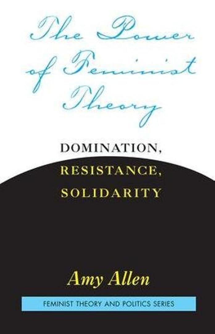 失礼な行政灌漑The Power of Feminist Theory (Feminist Theory and Politics)