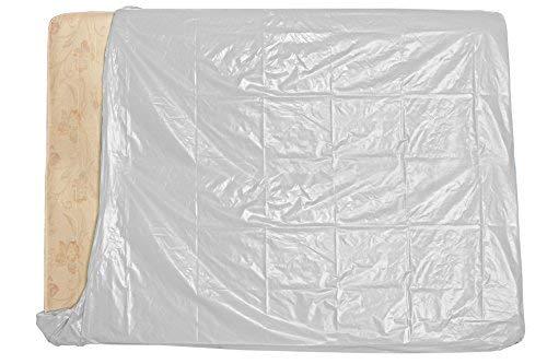 Simba Paper Design srl 5 Sacchi per Materasso 2 piazze x trasloco/conservare Mis. cm 194 x 235 Bianco Coprente 100%