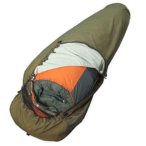 AVEN wasserdichter und robuster BIWAK Bag Full Zip Biwaksack für Schlafsack Biwack Sack Schlafsackhülle 220cm mit abnehmbaren Moskitonetz Moskitoschutz Nur 690g bis 220cm Schlafsack Länge geeignet
