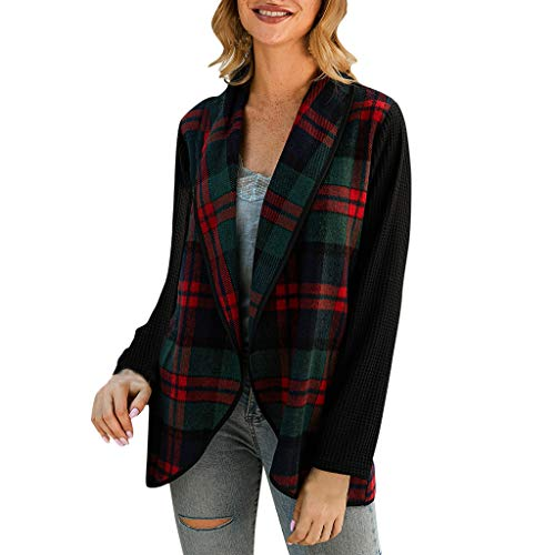 Check Out This Theoylos Women's Winter Cardigans Stripes Splice Long Sleeve Oblique Collar Coats Jac...