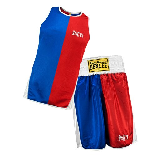 BENLEE Rocky Marciano Oberteil Amateur Boxing Reversible Set Brandford, Rot/Blau, M