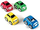 TTS Rechargeable Remote Control Easi-Cars Set of 4 Cars | Ideal for Collaborative Play