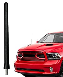 4.8 Inches Designed for Optimized FM//AM Reception TEKK Short Antenna Replacement for Dodge RAM Trucks 2009-2020