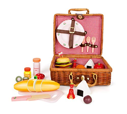 Picknickkorb Brotzeit 24 Teile