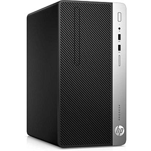 HP ProDesk 400 G6 Microtower (7EM13EA) PC-System, schwarz/Silber, Windows 10 Pro