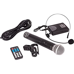"Ibiza Sound PORT12VHF- BT Sistema de sonido portátil y autónomo de 12""/30 cm, USB, Bluetooth, 700 W, Negro"