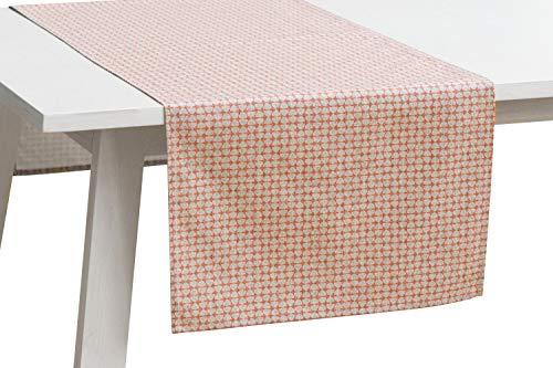 Pichler Tischwäsche Serie 'Bob', Koralle, Größe:Tischläufer 50 x 150 cm