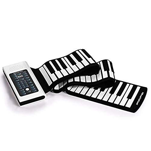 Review CHENXIU Hand Roll Piano Portable 88-Key Professional Thickening Keyboard Adult Electric Hand ...