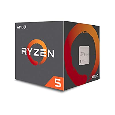 AMD Ryzen 5 1600 6-Core, 12-Thread Unlocked 65W Desktop Processor with Wraith Stealth Cooler (YD1600BBAFBOX)