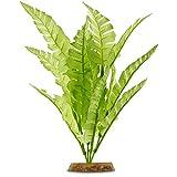 Petco Brand - Imagitarium Bright Green Fern Silk Aquarium Plant, Medium