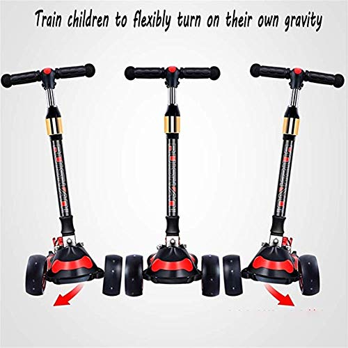 Best Prices! DESTRB Children's Children's Scooter 2-12 Years Old Four-Wheeled Skates Boys and Girls ...