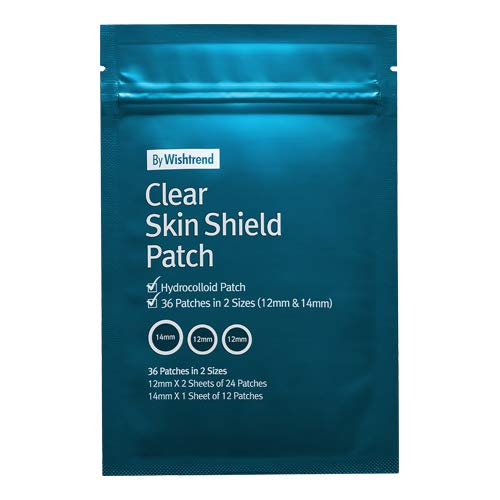By Wishtrend Clear Skin Shield Patch 36 patches in 2 sizes