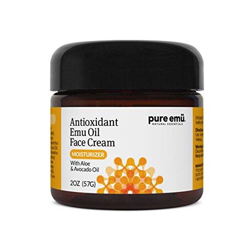 PURE EMU Antioxidant Face Cream With Pure, Fully Refined Emu Oil  ...