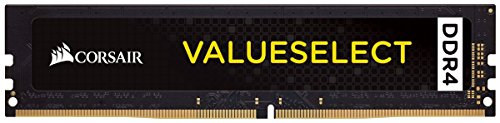 Corsair CMV8GX4M1A2666C18 Value Select 8GB DDR4 2666 C18 1.2V Desktop - Intel Core X and AMD Ryzen Series Computer…