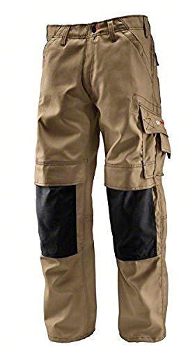 Bosch Professional 618800279 Pantalones, Beige, W42 L32