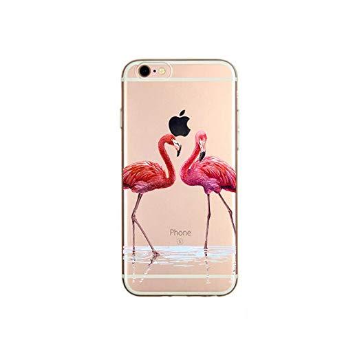 XMCJ Funda para iPhone X 5, 5S, 6, 6S, 7, 8 Plus, X, XS Max XR, carcasa de TPU suave para iPhone 7 SE, funda de teléfono (color: azul cielo, material: para iPhone 8)