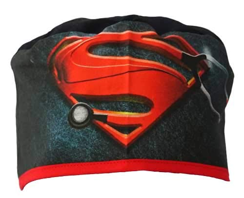 OP-Haube. Surgical Cap. Superdoktor. shorthaired