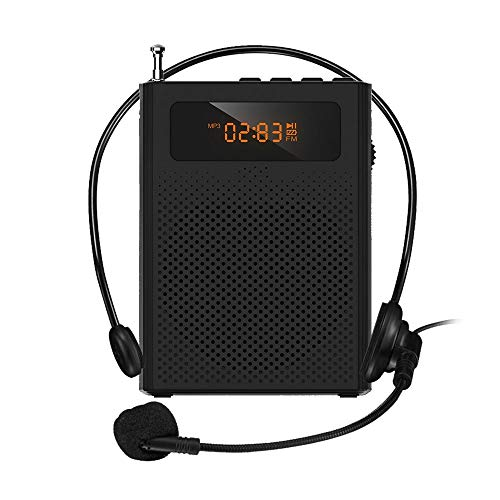 Great Price! JZJSZB Portable Voice Amplifier Wireless for Teachers with Clip Headset Microphone Supp...