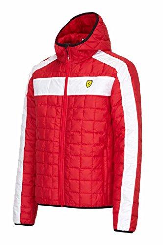 Scuderia Ferrari Formula One Team Veste rembourrée pour homme, Rouge, Mens (XL) Chest 44-46 inches