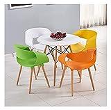 Cocina Mesa de ocio Mesa de comedor Conjunto para cocina o decoración del hotel, mesa de plástico y silla combinación de mesa de comedor y silla Conjunto de 5 camas retro mesa de ocio CJiaxin1 Tabla 4