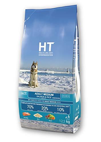 HT Dog Medium Adult Salmone e Riso 12,5 kg