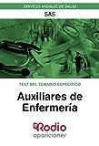 Auxiliares de Enfermería. Test del temario específico.: Servicio Andaluz de Salud