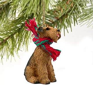 Best Airedale Terrier Miniature Dog Ornament Review