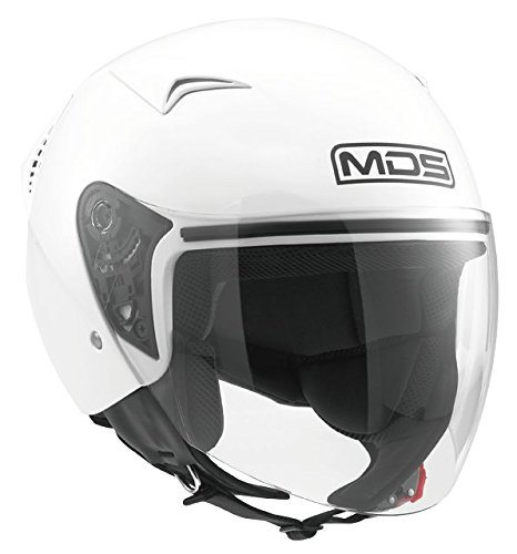 AGV Helmets Casco Jet G240 MDS E2205 Solid, color Blanco, talla M