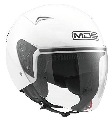 AGV MDS Casco Moto G240 E2205 Solid, Bianco, S