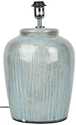 Better & Best 3021109 vloerlamp in de vorm van een ampfore, keramiek, blauw