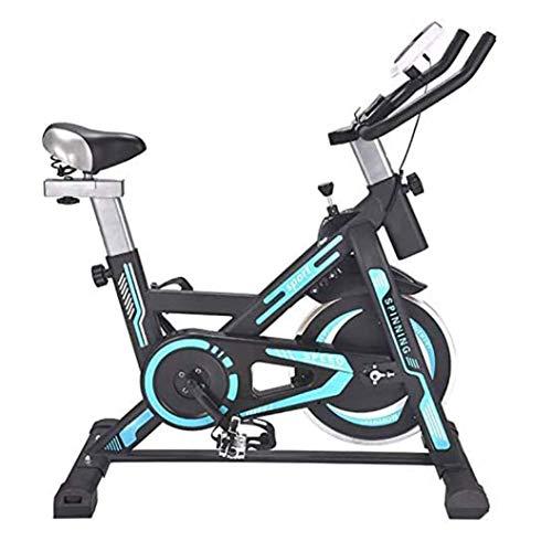 WJFXJQ Bicicletas de Ejercicios Bicicletas de Ciclismo Interior: Bicicletas de Giro Completamente Ajustables con Pedales Antideslizantes y Asientos cómodos para Equipos de Ejercicios para el hogar