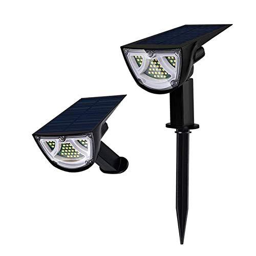 #N/A/a 43 Leds focos solares de Paisaje IP65 Luces de Pared de energía Solar Impermeables al Aire Libre Luces solares de paisajismo para Patio jardín Entrada - Multicolor