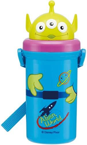 Silicon straw hopper water bottle [Alien]