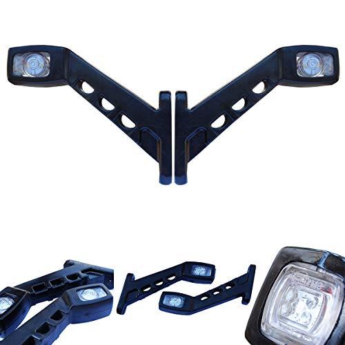 2x LED 12V/24V Volt Begrenzungsleuchten Seitenmarkierung Seitenleuchten Positionsleuchten LKW PKW Anhänger E-mark