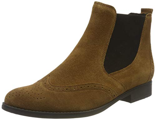 Gabor Shoes Damen Fashion Stiefeletten, Beige (Cognac 14), 42.5 EU