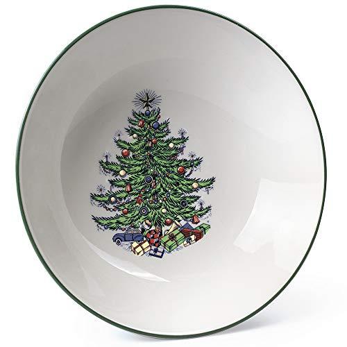 Original Christmas Tree Traditional Cereal Bowl, 6 1/4', Set of 4