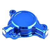 Pieces de Sport Motorise Filtre à huile for motocyclette Embout for Yamaha YZ250F YZ450F WR250F WR450F 2003-2015 YZ WR 250F 450F YZF 250 WRF 450 F 2013 2014 (Color : Blue)