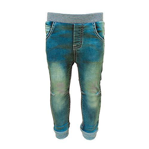 SALT AND PEPPER Baby-Jungen Ahoy Stick Print Jeans, original, 80