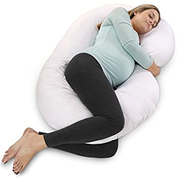 Total body pillow- side sleeper, nursing, contour support