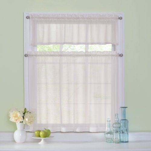 Curtain Fresh Kitchen Curtains Set for Windows - Arm and Hammer 56